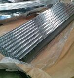 Placa de acero galvanizada acanalada/trapezoidal de la buena calidad de pared
