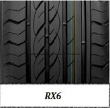 Neumático del coche de la polimerización en cadena con los certificados 185/65r15 205/55r16 225/40r18 del GCC, del alcance y de la escritura de la etiqueta