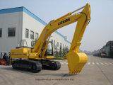 Excavatrice hydraulique bon marché de marque de la Chine avec l'engine de Commins