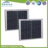 15W polykristalline TUV Panelsun-Batterie-Solarbatterie