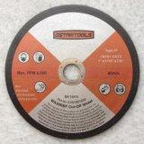 금속과 석공술 절단 & 가는 디스크 바퀴를 위한 유형 27 회전 숫돌