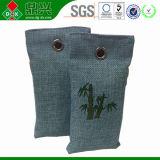 Saco de bambu purificado a ar do carvão vegetal