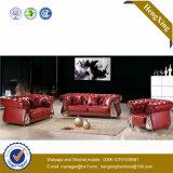 Mobiliario de Oficina moderna Sofá de oficina de sofá de cuero genuino (HX-SN045)