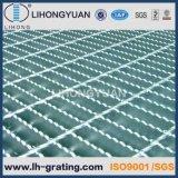 Suelo Grating galvanizado de la escala de la plataforma de la estructura de acero
