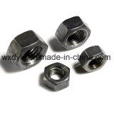 Noix Hex de tête d'hexagone de plaine d'acier du carbone DIN 934