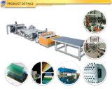 La corteza del PVC hizo espuma protuberancia plástica de la producción de la tarjeta de placa que hacía la maquinaria