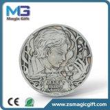普及したカスタマイズされた漫画の金属の硬貨のバッジ