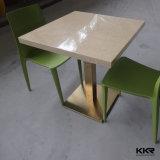 De aangepaste Acryl Stevige Eettafel van de Oppervlakte