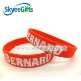 Progettare il Wristband per il cliente del silicone per la promozione