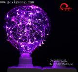 주황색 LED 별 전구 구리 철사 특별한 물자 G125 G95 G80 다채로운 전구