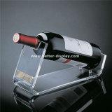 Unidad de acrílico clara Btr-D2001 del soporte de visualización del vino