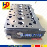 Peça de motor da cabeça de cilindro D1503 de Kubota da máquina escavadora D1703