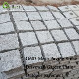 Giardino bianco della pietra del cubo del granito di prezzi di fabbrica/pietra per lastricati pavimento di Countryard