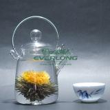 中国のハンドメイドの功妙な茶、花の茶、花盛りの茶、カスタマイズされたギフトのパッケージ(BT001)が付いている咲く茶こし器