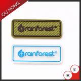 Correção de programa de borracha gravada brandnew Eco-Friendly do logotipo para a roupa