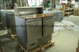 ステンレス鋼引出しが付いている商業サラダ冷却装置