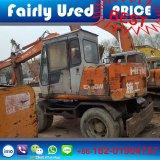 日立小さい車輪の掘削機の日立元の使用されたEx60wd掘削機