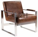 마일로 스테인리스 의자 살아있는 가구의 스타일로 안락 의자
