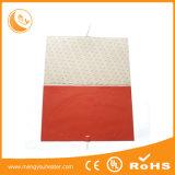 産業温湿布、暖房のマット、発熱体、シリコーンゴム90W