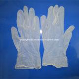 Guantes disponibles de la examinación del PVC
