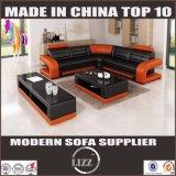 Móveis de casa moderna Sofá de couro real para sala de estar