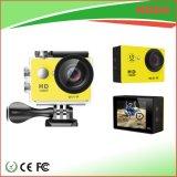 Couleur de jaune d'appareil-photo des prix les plus inférieurs 1080P Actoin