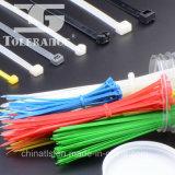 Constructeur en nylon de serre-câble avec le crochet et la boucle