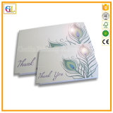 Tarjeta de papel/impresión de la tarjeta/de la postal de felicitación en precio barato