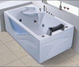BALNEARIO de la bañera del masaje de la esquina del rectángulo de 1800m m con el Ce RoHS (AT-0521)