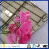 Fabrik-Preis-dekorativer 6mm grauer abgetönter zweischichtigspiegel