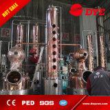 Kupferne Spiritus-Destillation-Geräten-Brennerei-destillierendes System für Verkauf