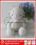 Lapin/jouet mous mignons chauds de lapin pour le bébé