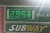 знак газовой цены 12inch СИД (TT30SF-3R-RED)