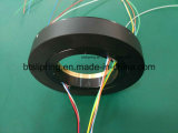 Inner Hole 80mm High Quality Through Hole Slip Ring avec ISO / Ce / FCC / RoHS,