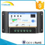regulador de la batería solar de 12V 24V 10A para el uso de interior S10I del hogar de la Sistema Solar