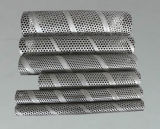 Tubo filtrante perforato dell'acciaio inossidabile