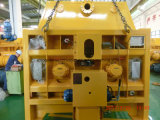 Mezclador concreto 1000 del mini eje gemelo de Mso Sicoma