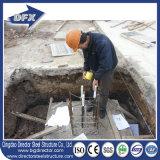 Atelier structural en acier préfabriqué de bâti de Q235B avec la disposition