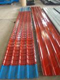 Farbe beschichtete galvanisierte Stahlplatte/vorgestrichene Wellblech-Dach-Platte