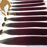 Migliore estensione dei capelli di punta dei capelli umani U del Virgin di Ombre di qualità