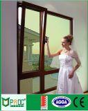 La singola verniciatura di alluminio sceglie la finestra appesa con hardware americano