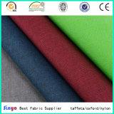 Tessuto cationico venduto popolare 100% del poliestere per i sacchetti di /Laptop del sofà