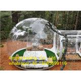 Tenda gonfiabile trasparente romantica dell'albero della bolla, tenda di campeggio gonfiabile