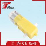 motor plástico de la caja de engranajes de la C.C. del imán permanente 6V para la robusteza