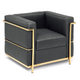 Modernes ledernes Sofa-gesetzte Wohnzimmer-Freizeit-Möbel (T011A)