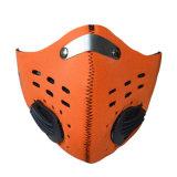 Maschera di protezione antivento della bicicletta protettiva del filtrante del carbonio di sport esterni