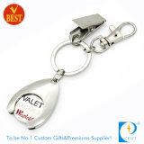 Het Symbolische Muntstuk Keychain van het Karretje van de douane voor het Winkelen van de Supermarkt