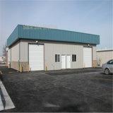 Construction professionnelle en métal de garage de structure métallique