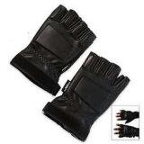 革戦闘半分指の戦術的な手袋
