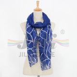 Bufanda larga viscosa de Hijab del modelo del grano de los corales similar a la bufanda de seda